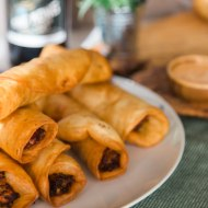 Indian Curry Taquitos