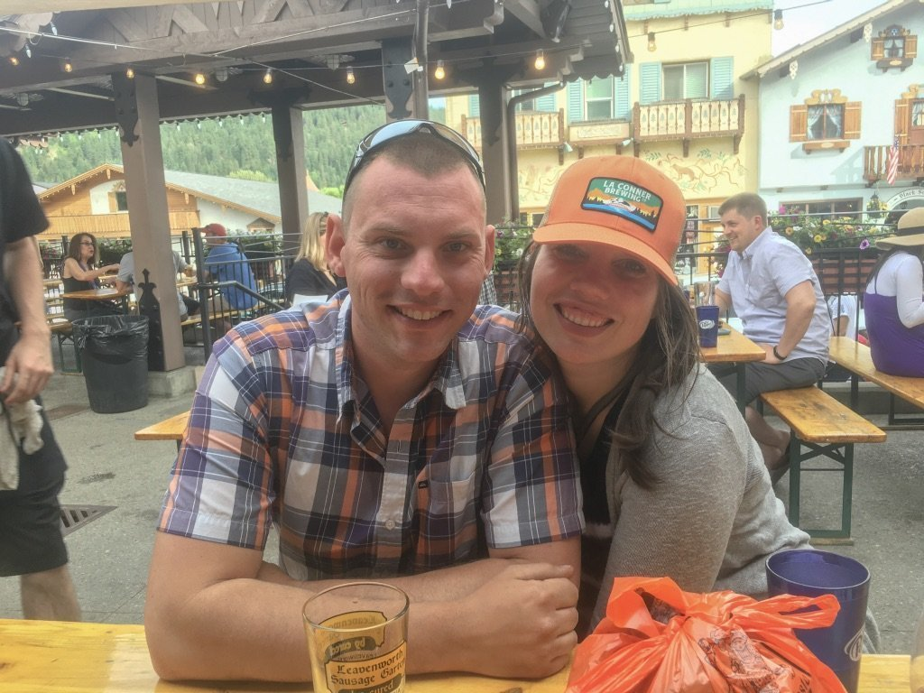 beer garden leavenworth wa
