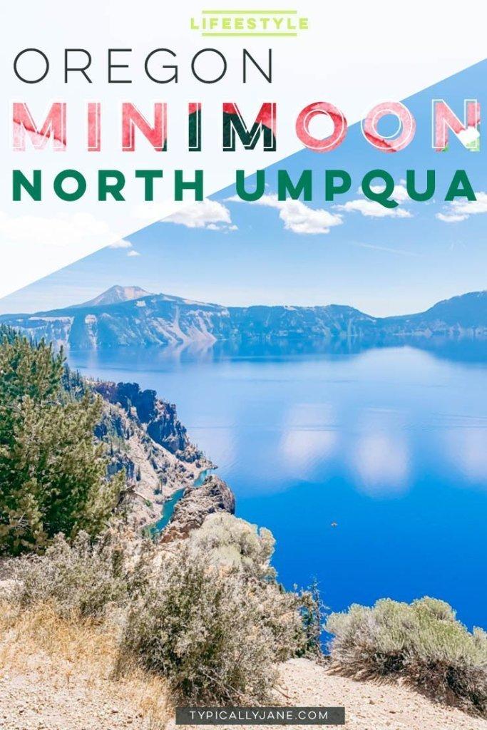 Oregon Minimoon Crater Lake North Umpqua