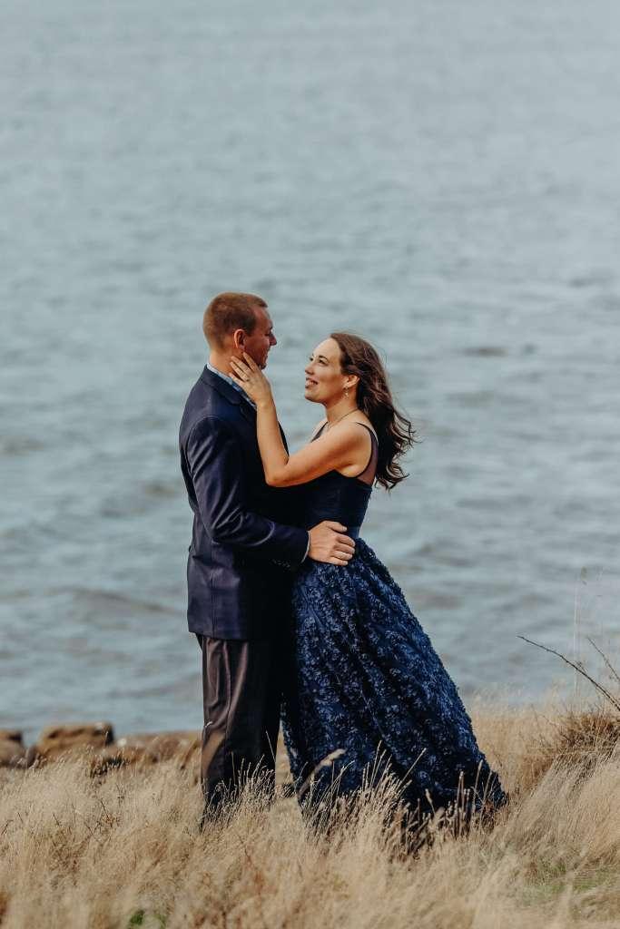 PNW bride and groom, Seattle wedding photos