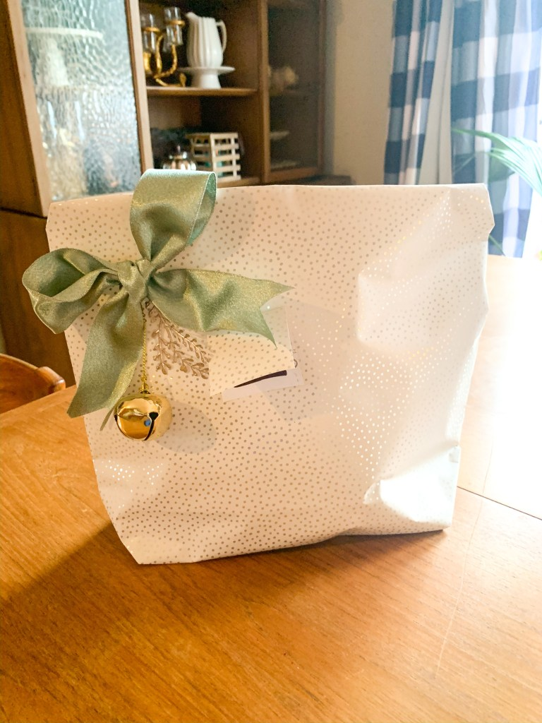 how to make wrapping paper gift bags