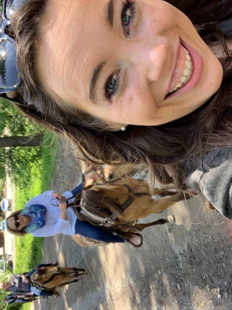 horseback riding bridal shower