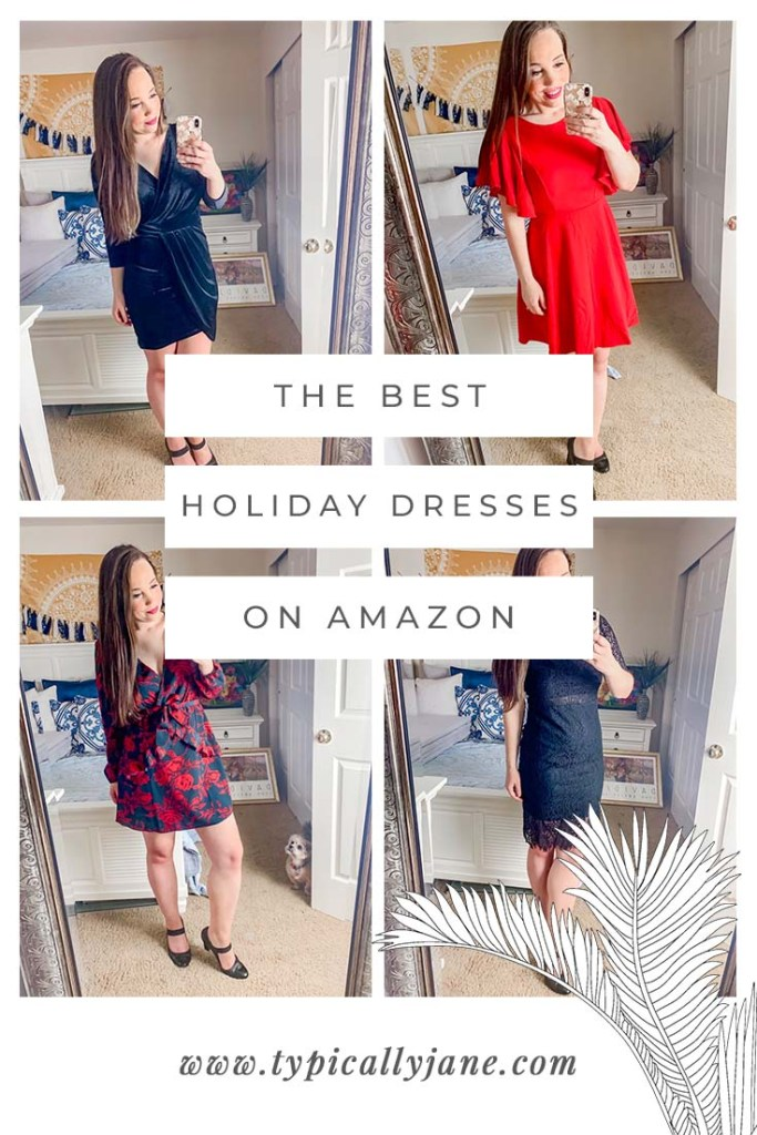 the best holiday dresses on Amazon