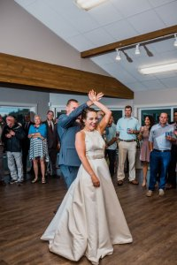 bride and groom first dance Ella James At Last
