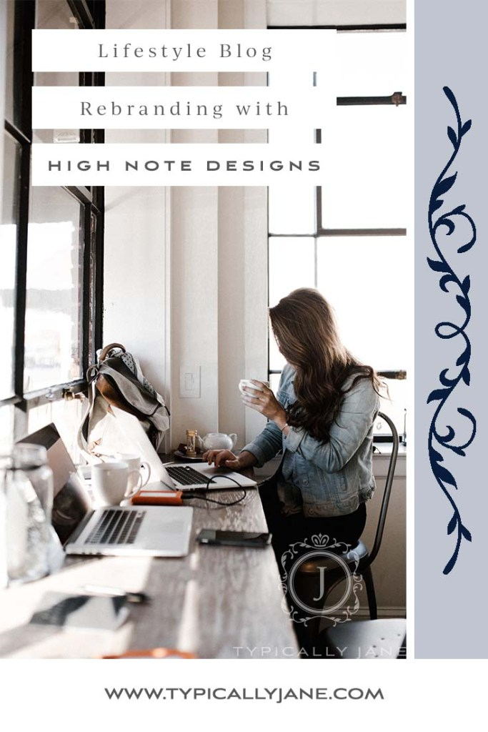 lifestyle blog rebranding with high note designs, blog design ideas, new blog ideas, new blog design, blog designer