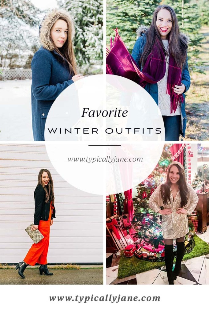 favorite winter outfits, classic winter style, cute women's outfit ideas for winter
