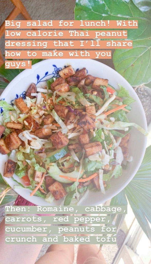 asian slaw salad, wedding fitness, healthy meal ideas, wedding diet