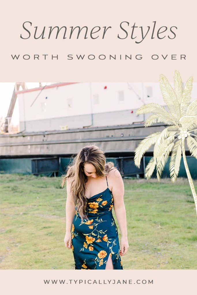 summer styles worth swooning over. Summer fashion is always my favorite. It's fun, feminine, and has the best outfits.