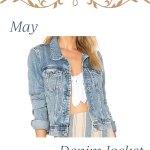 Love Your Closet Challenge IG Stories May 2020 Denim Jacket