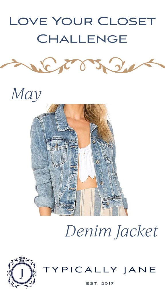 Love Your Closet Challenge IG Stories May 2020 Denim Jacket