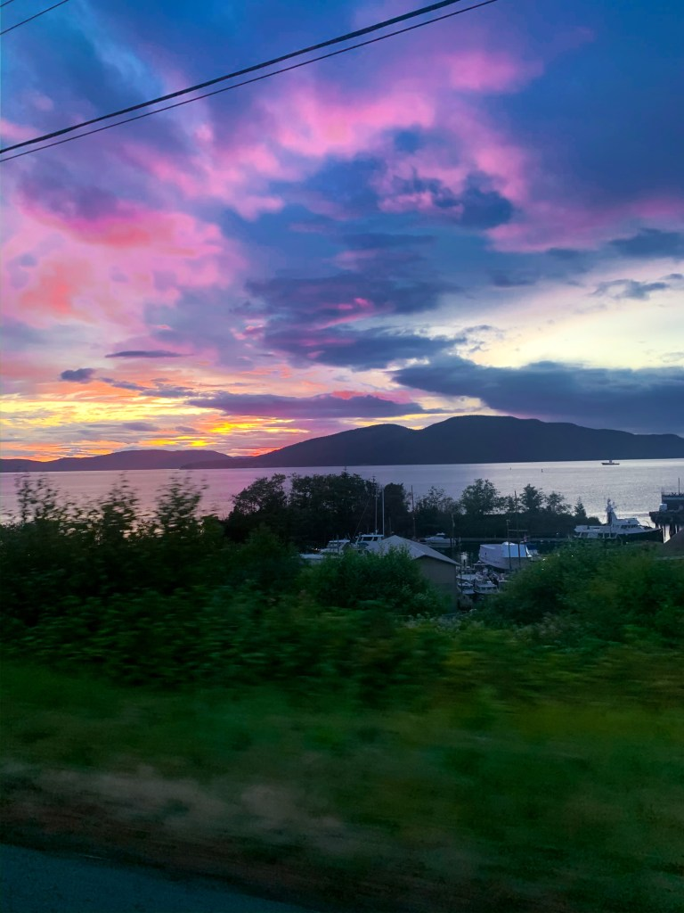 Anacortes WA sunset