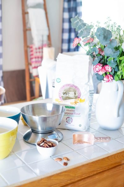 Why should you bake with a scale? Learn why it's the number one thing you can do to make yourself a better baker. How can I be a better baker? Bake with a scale!