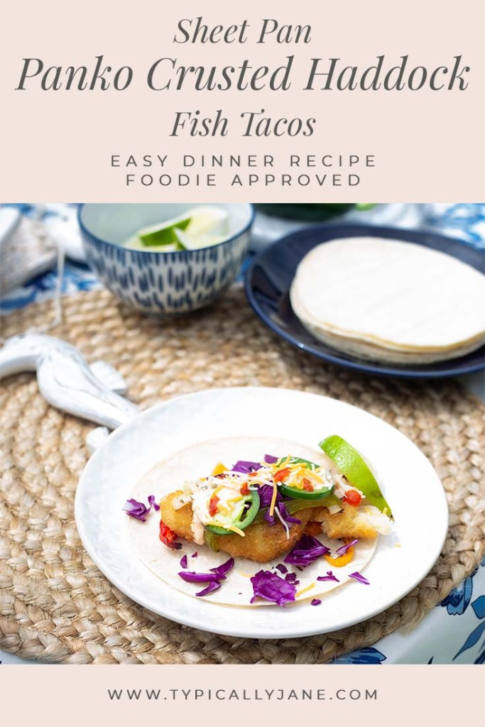 panko crusted haddock fish tacos dinner recipes