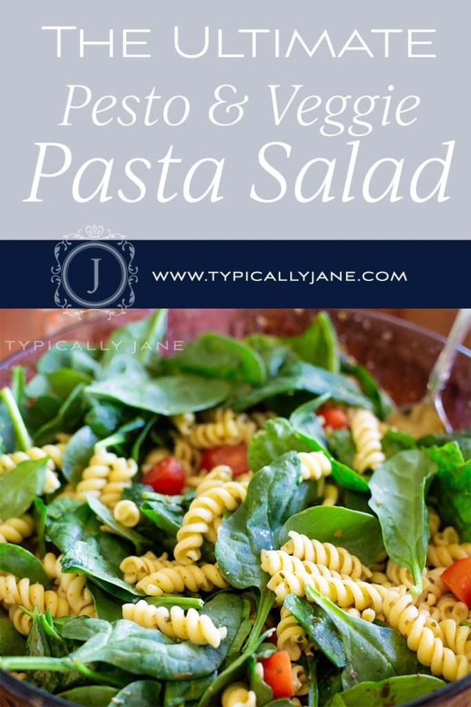 Pasta Salad Recipe Card