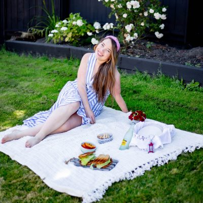 Cute spring and summer classic style outfit idea