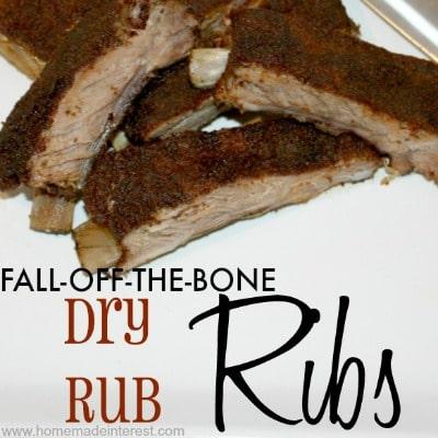 Fall-Off-The-Bone Dry Rub Ribs Recipe