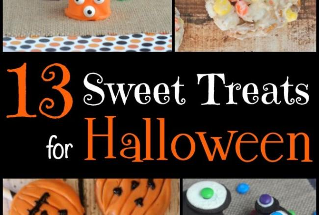 13 Sweet Treats for Halloween