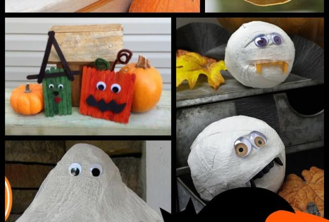 32 Halloween Crafts for Kids