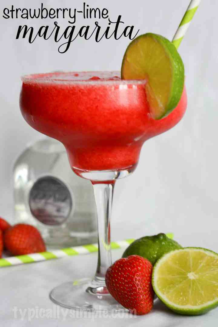 strawberry-lime-margarita