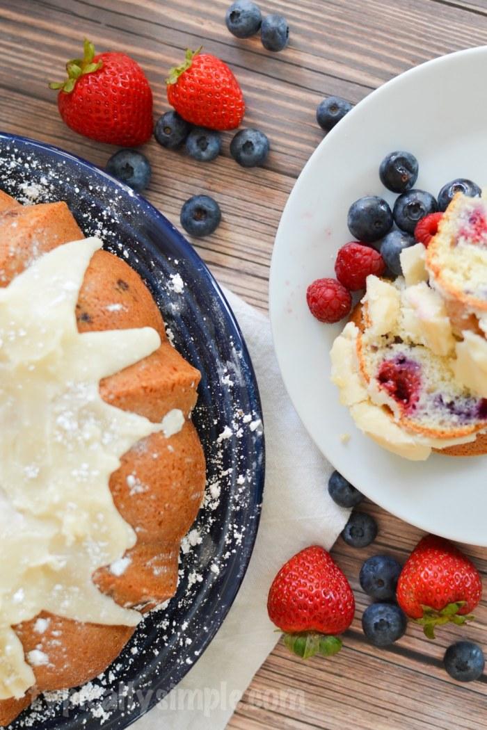 Very Berry Bundt Cake Recipe