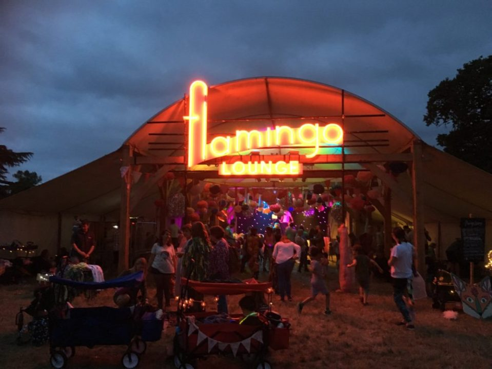 Flamingo Lounge at Just So, 2018