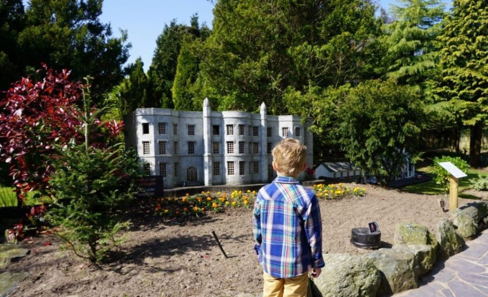 Model of Plas Newydd at Anglesey Model Village