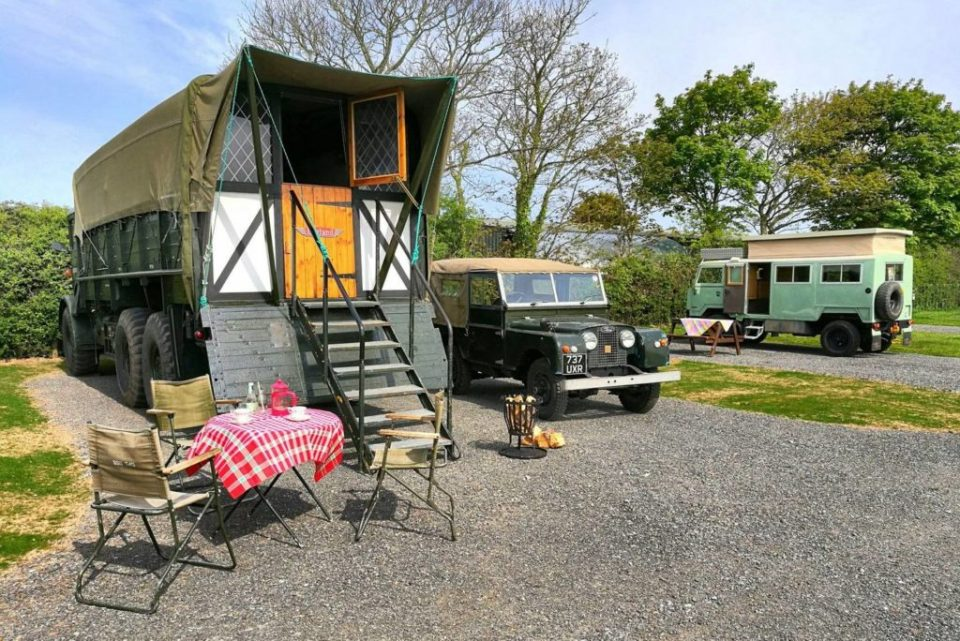AWOL Military Glamping Anglesey