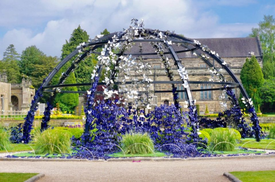 The Butterflies at Trentham Gardens. Image: typicalmummy.co.uk