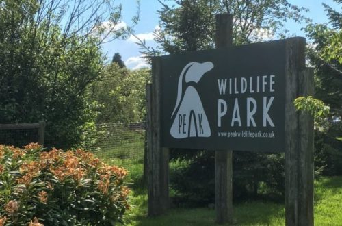 Sign at Peak Wildlife Park. Photo: typicalmummy.co.uk