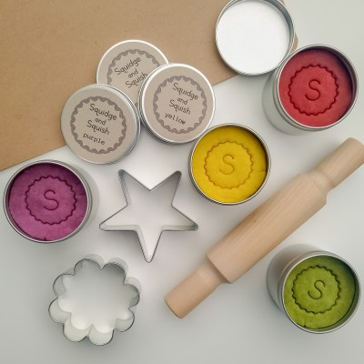 natural play dough set