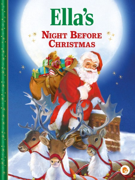 Personalised Christmas Book from orangutan Books```
