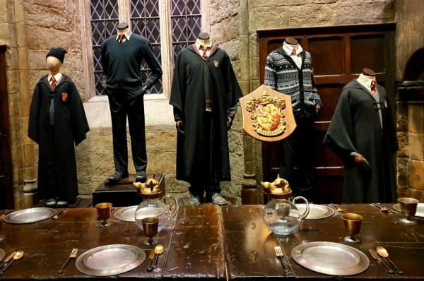 The Great Hall at The Warner Bros. Harry Potter Studios Tour