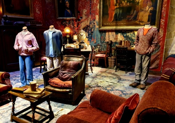 Griffindor Common Room at the Warner Brothers Harry Potter Studio Tour