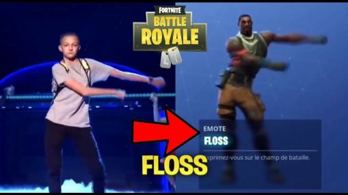 Floss Dance Fortnite