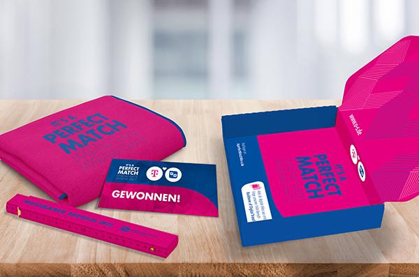 Gewinnspiele organisieren: Verpackung