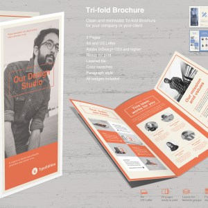Tri-fold InDesign Template