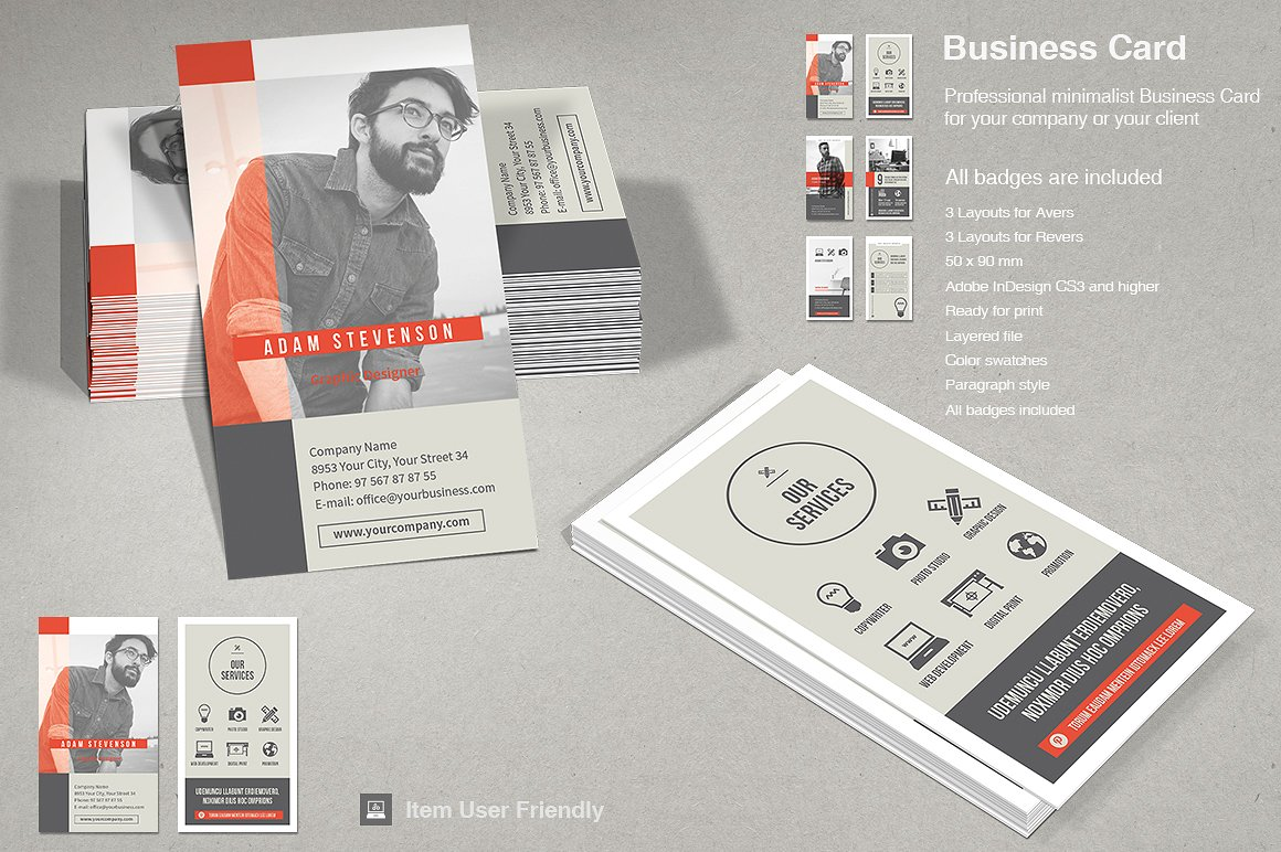 business card vol 2 typoedition