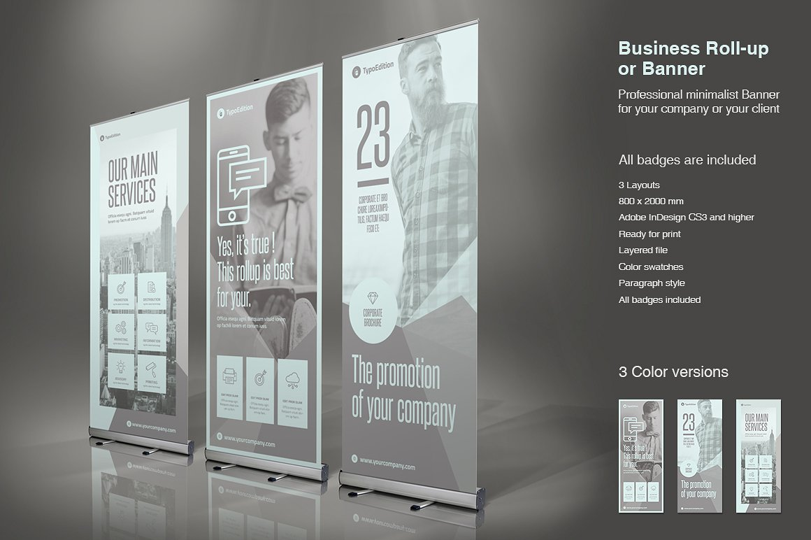 Business Roll-Up Vol  7 - TypoEdition