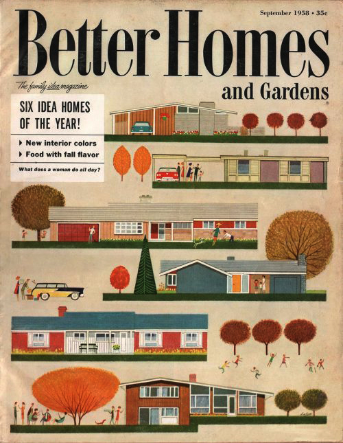 Better Homes And Gardens, Sept 1958 « The Midcentury