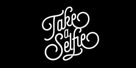 selfie-script-font
