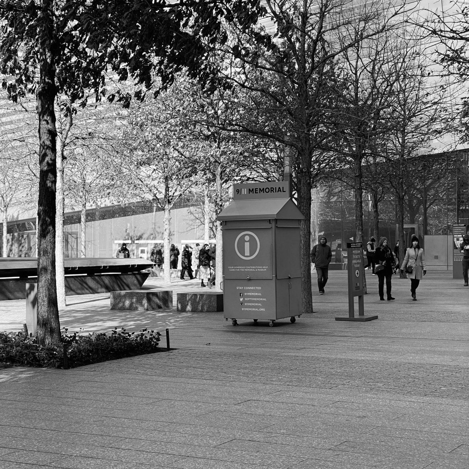 Observed: Memorial Kiosk