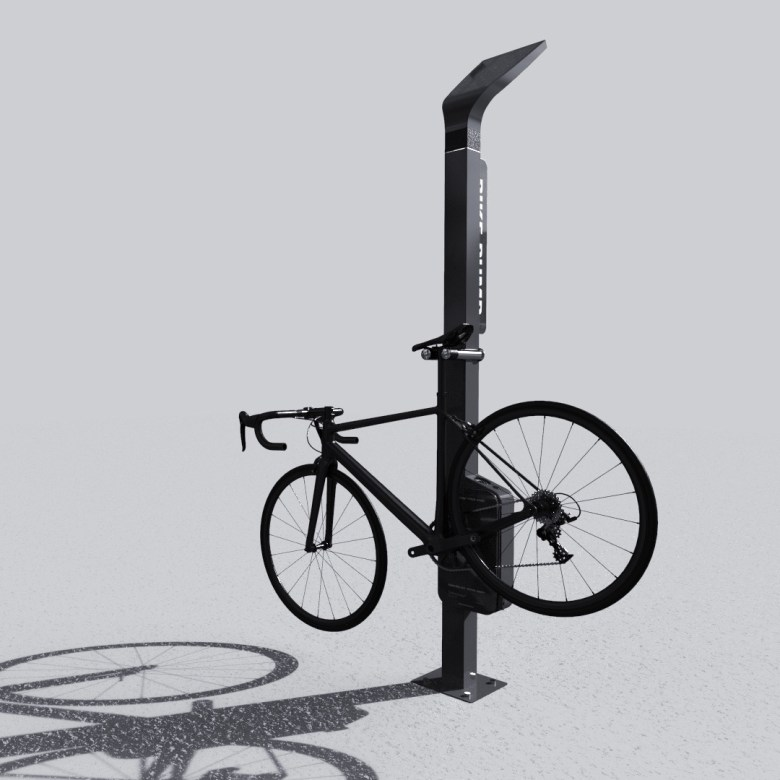 Bruno Miloux pump bike overview