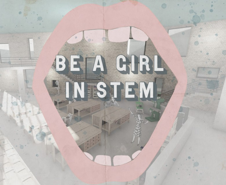 Grace Thomas Girl in STEM poster