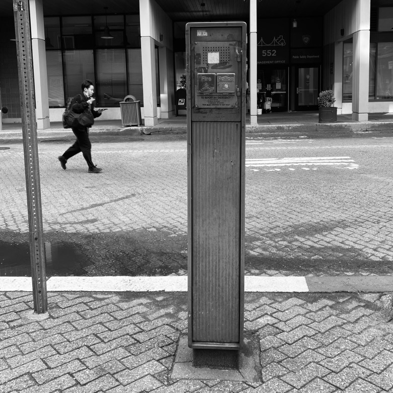 FDNY Callbox on Roosevelt Island - front
