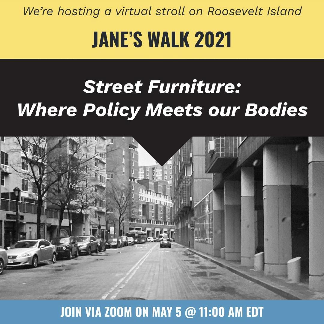 Jane's Walk NYC 2021 Starts
