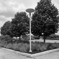 Pole Mounted Indirect Lighting