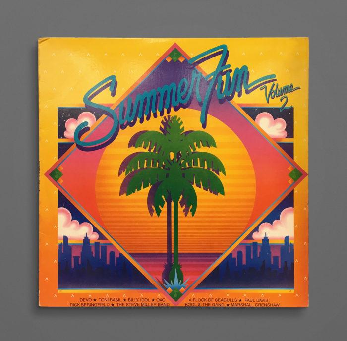 Typophonic Album Cover Typography