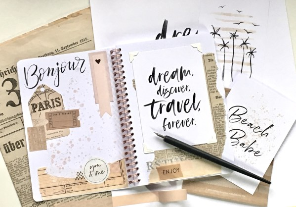 Bullet Journal typopoetry lettering