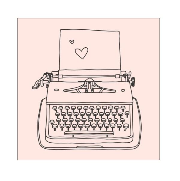 Typewriter diy Bullet Journal