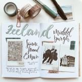 Travel Journal Workshop Instax Mini Sofortbildkamera